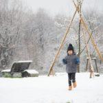 雪のミニフォトセッション