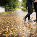 秋を見つける撮影