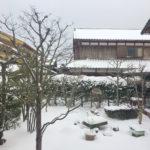 遠い昔の雪の日の出来事