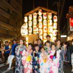 祇園祭 後祭 鯉山へ