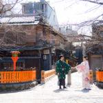 日本人客が多めな京都!